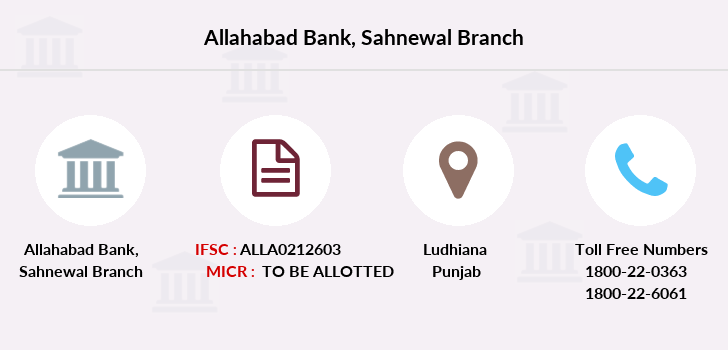 Allahabad-bank Sahnewal branch