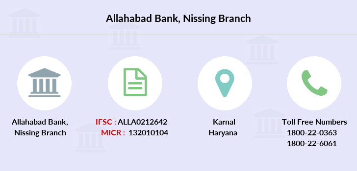 Allahabad-bank Nissing branch