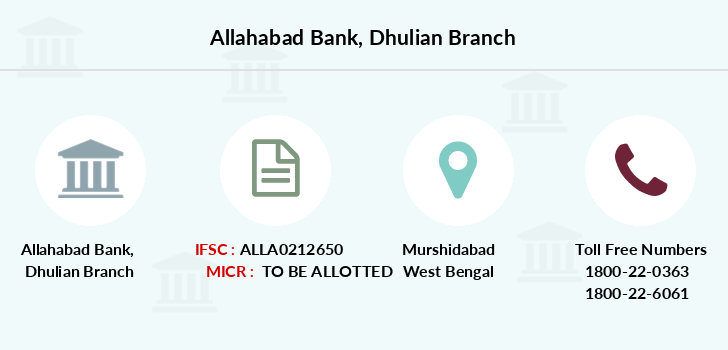 Allahabad-bank Dhulian branch