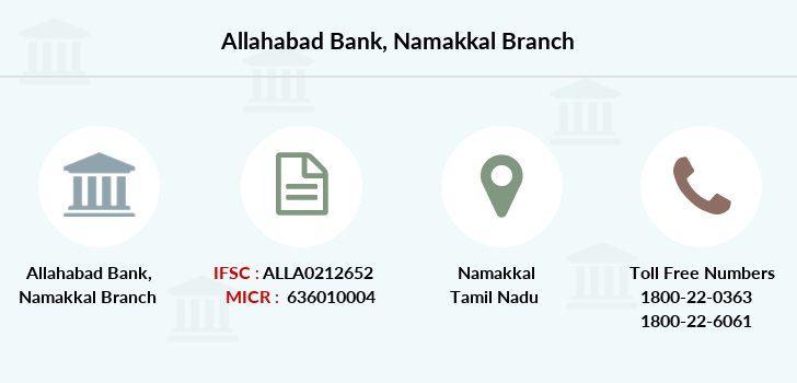 Allahabad-bank Namakkal branch