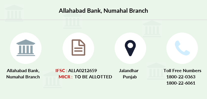 Allahabad-bank Numahal branch