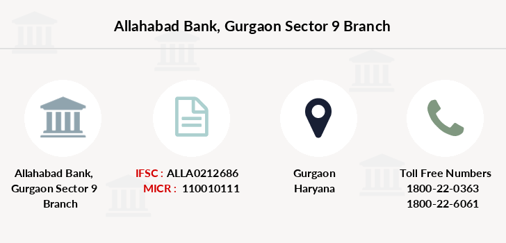 Allahabad-bank Gurgaon-sector-9 branch