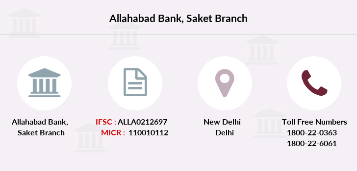 Allahabad-bank Saket branch