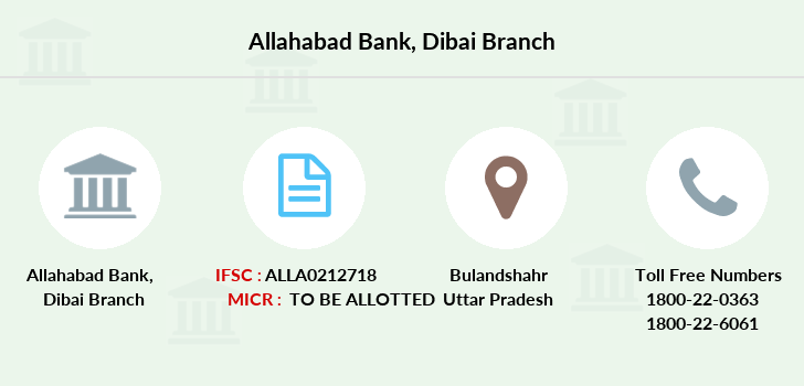 Allahabad-bank Dibai branch