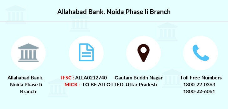 Allahabad-bank Noida-phase-ii branch