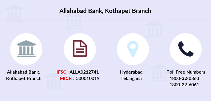 Allahabad-bank Kothapet branch