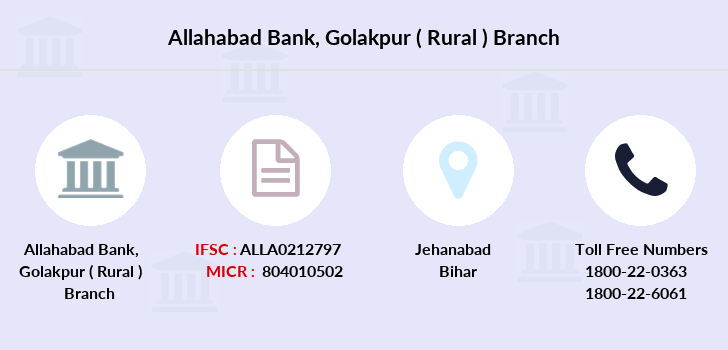 Allahabad-bank Golakpur-rural branch