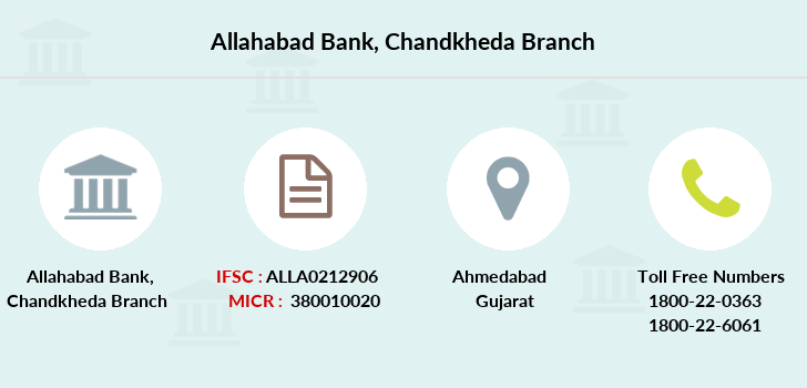 Allahabad-bank Chandkheda branch