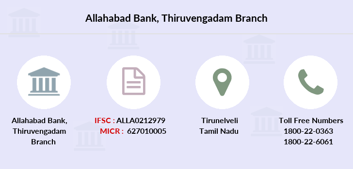 Allahabad-bank Thiruvengadam branch