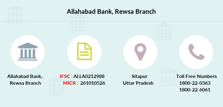 Allahabad-bank Rewsa branch