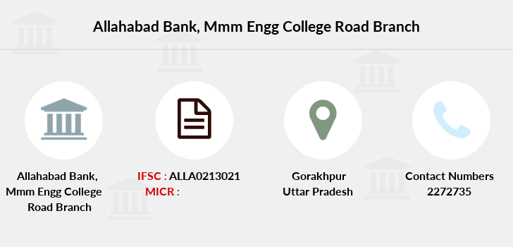 Allahabad-bank Mmm-engg-college-road branch