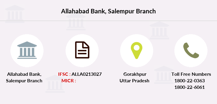 Allahabad-bank Salempur branch