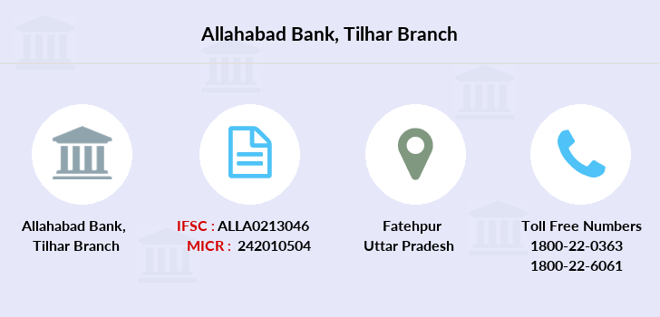 Allahabad-bank Tilhar branch