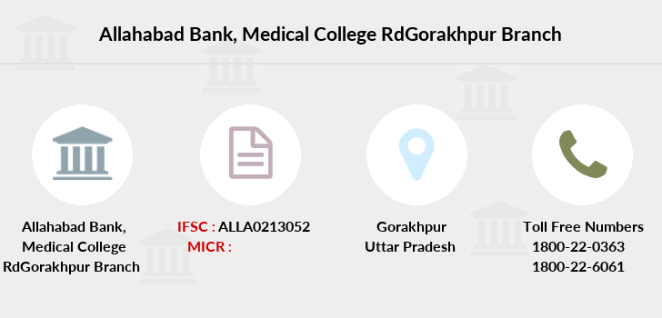 Allahabad-bank Medical-college-rdgorakhpur branch