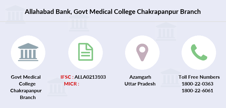 Allahabad-bank Govt-medical-college-chakrapanpur branch