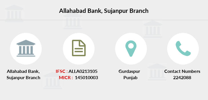 Allahabad-bank Sujanpur branch