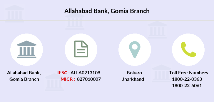 Allahabad-bank Gomia branch