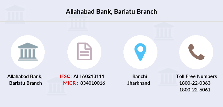 Allahabad-bank Bariatu branch