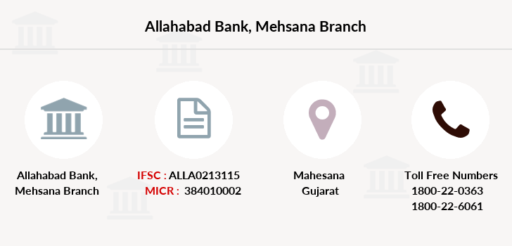 Allahabad-bank Mehsana branch
