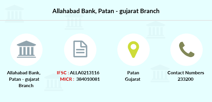 Allahabad-bank Patan-gujarat branch