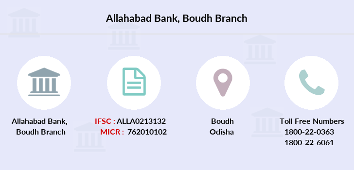 Allahabad-bank Boudh branch