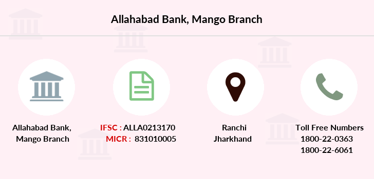 Allahabad-bank Mango branch