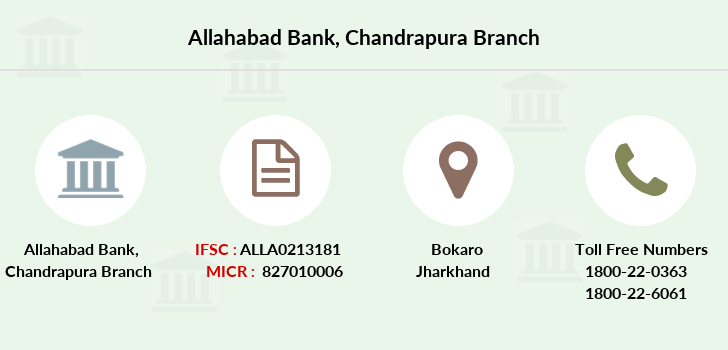 Allahabad-bank Chandrapura branch