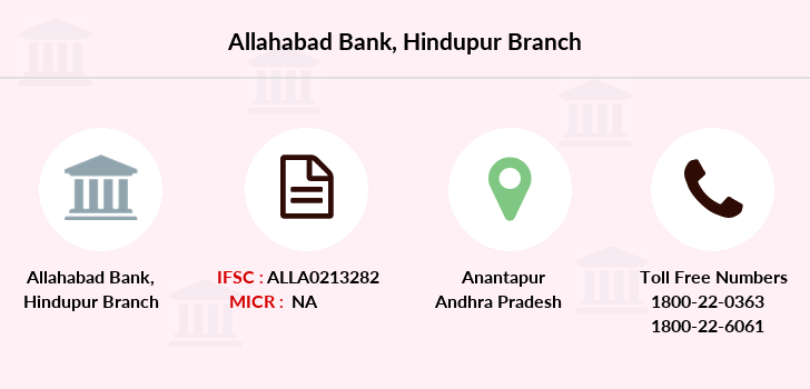 Allahabad-bank Hindupur branch
