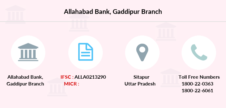 Allahabad-bank Gaddipur branch