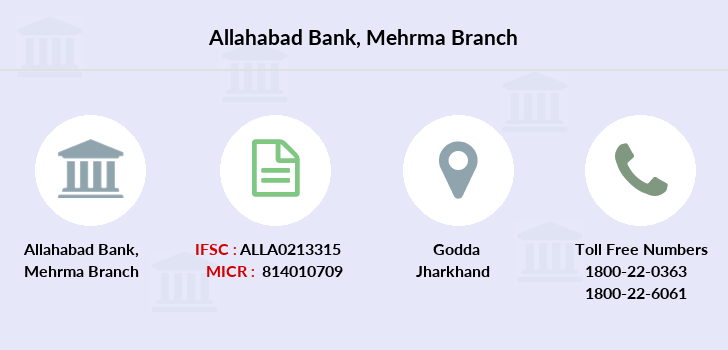 Allahabad-bank Mehrma branch