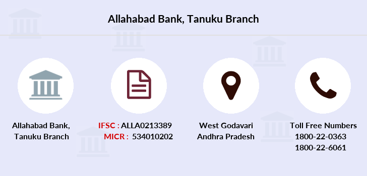 Allahabad-bank Tanuku branch