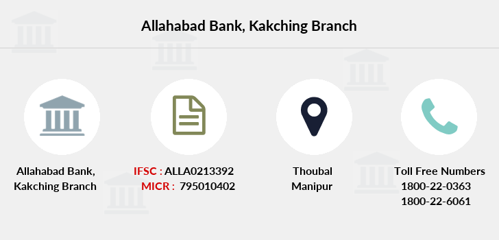 Allahabad-bank Kakching branch