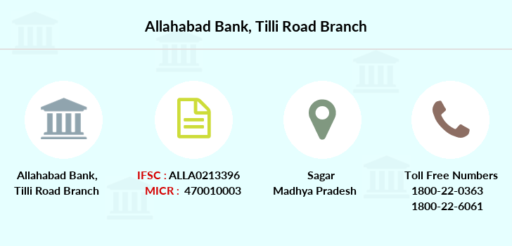 Allahabad-bank Tilli-road branch
