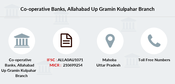 Co-operative-banks Allahabad-up-gramin-kulpahar branch