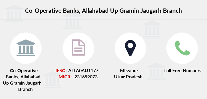 Co-operative-banks Allahabad-up-gramin-jaugarh branch