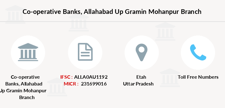 Co-operative-banks Allahabad-up-gramin-mohanpur branch