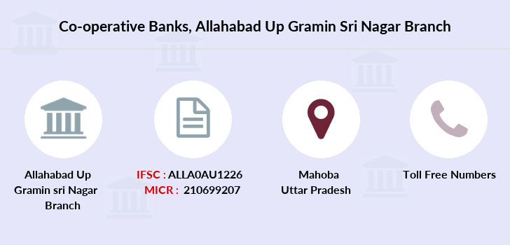 Co-operative-banks Allahabad-up-gramin-sri-nagar branch