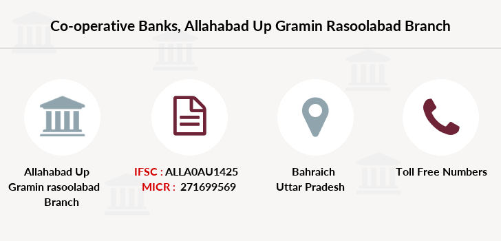 Co-operative-banks Allahabad-up-gramin-rasoolabad branch