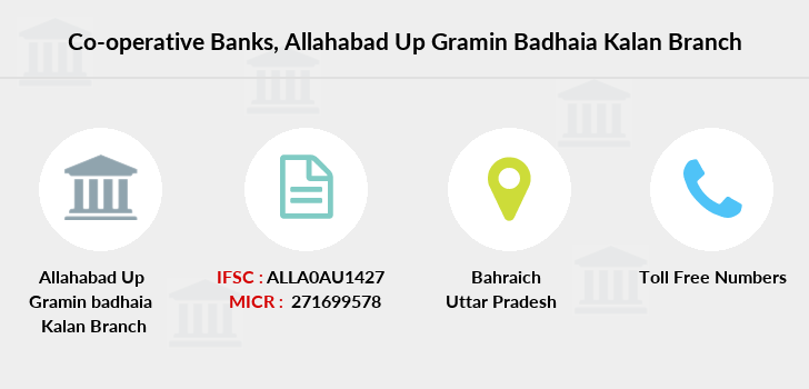 Co-operative-banks Allahabad-up-gramin-badhaia-kalan branch