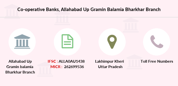 Co-operative-banks Allahabad-up-gramin-balamia-bharkhar branch