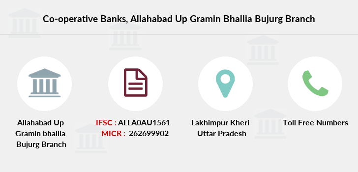 Co-operative-banks Allahabad-up-gramin-bhallia-bujurg branch
