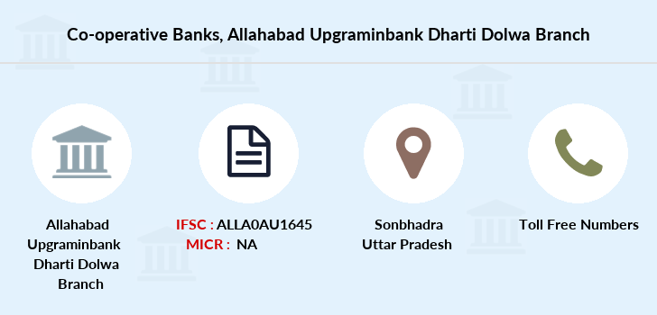 Co-operative-banks Allahabad-upgraminbank-dharti-dolwa branch
