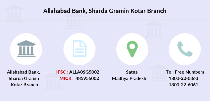 Allahabad-bank Sharda-gramin-kotar branch