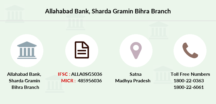 Allahabad-bank Sharda-gramin-bihra branch