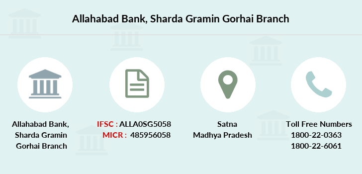 Allahabad-bank Sharda-gramin-gorhai branch