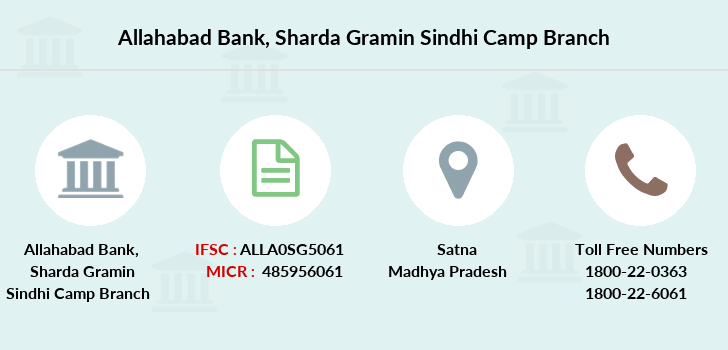 Allahabad-bank Sharda-gramin-sindhi-camp branch