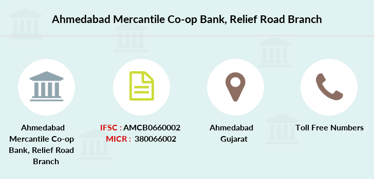 Ahmedabad-mercantile-co-op-bank Relief-road branch