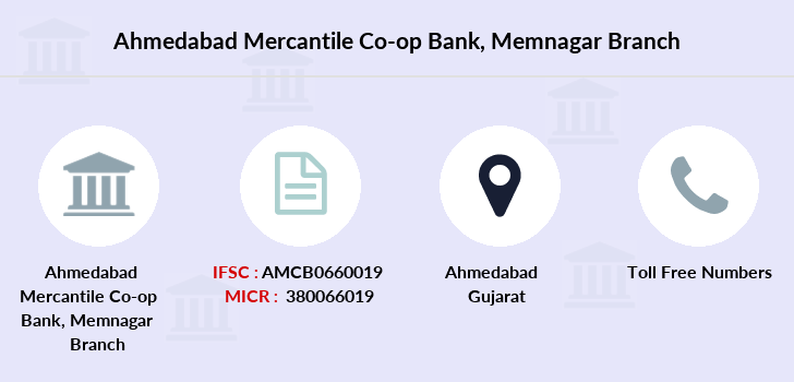 Ahmedabad-mercantile-co-op-bank Memnagar branch