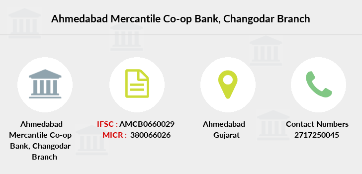 Ahmedabad-mercantile-co-op-bank Changodar branch