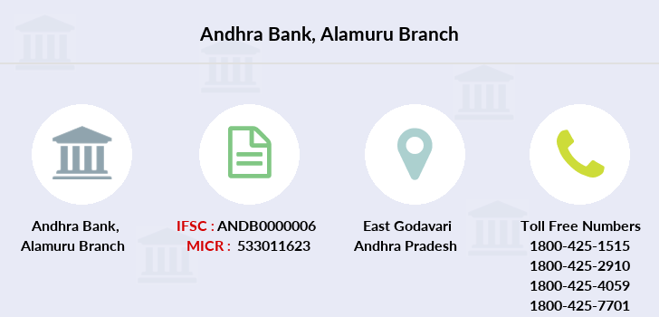 Andhra-bank Alamuru branch